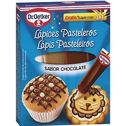 Lápis de pasteleiro 3 em 1, chocolate