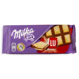 Tablete de chocolate lu