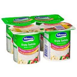 Iogurte polpa de morango/banana