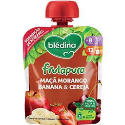 Frutapura maçã/morango/banana/cereja