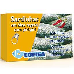 Sardinhas em óleo picante