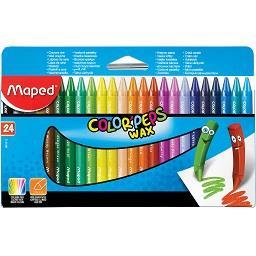 Lápis de cera color peps