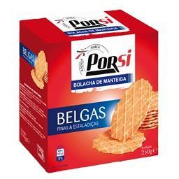 Bolachas belgas manteiga