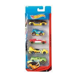Pack 5 veículos sortidos