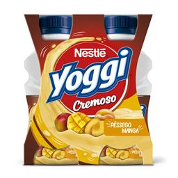 Iogurte líquido yoggi cremoso pêssego/manga