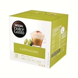Cápsulas de café com leite cappuccino