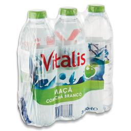 Água sem gás de maçã/chá branco pet