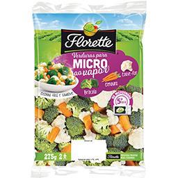 Verduras p/ Micoondas