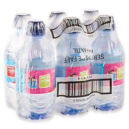 Água mineral sem gás infantil