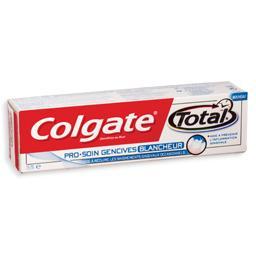Pasta dentifríca, total pro gum, branqueador