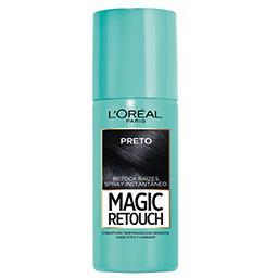 Spray Magic Retoca Raíz Preto