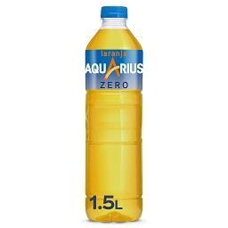 Aquarius zero laranja pet 1.5 ltr individual unidad