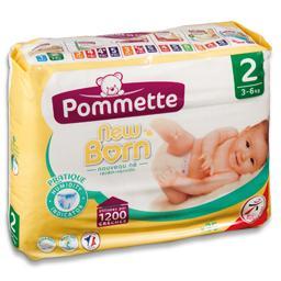 Fraldas para bebé recem nascido t2, 3-6 k, 35 unidad...