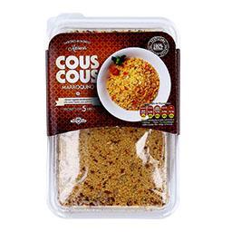 Couscous marroquino com vegetais desidratados